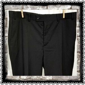 "{Calvin Klein} 100% wool suit pants, waist 38"""
